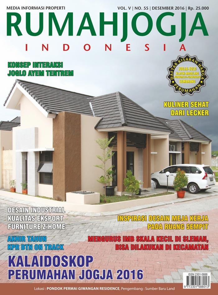 Majalah RUMAHJOGJA INDONESIA edisi 55