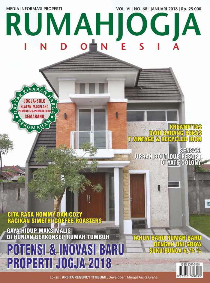 Majalah RUMAHJOGJA INDONESIA edisi 68