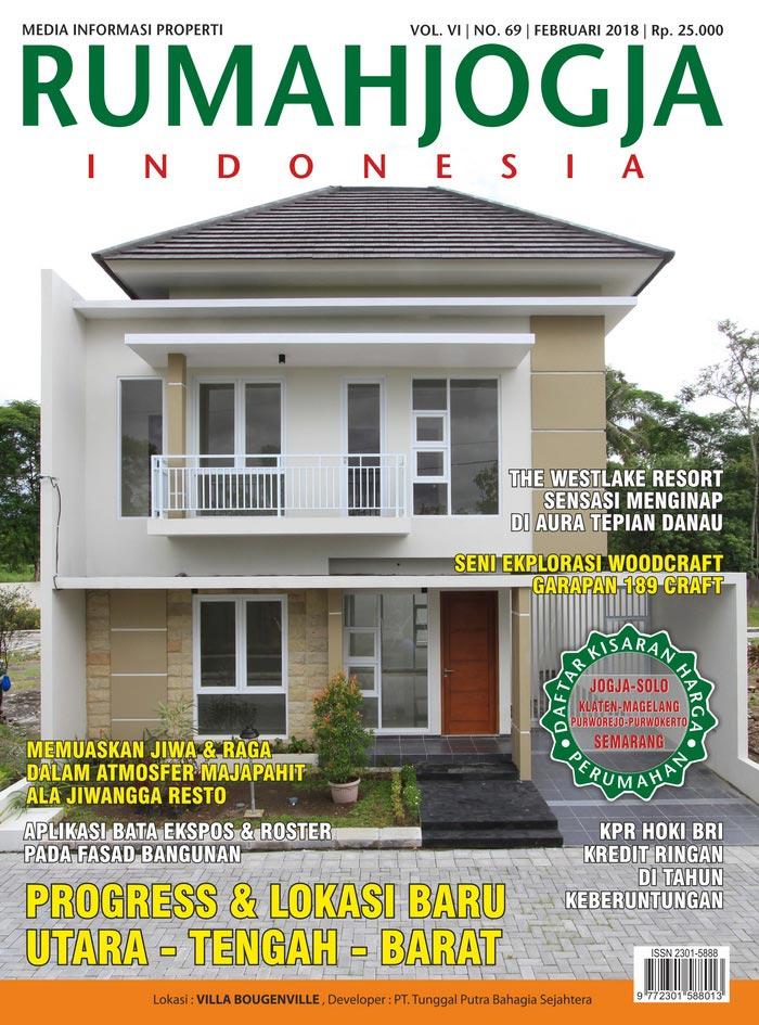 Majalah RUMAHJOGJA INDONESIA edisi 69