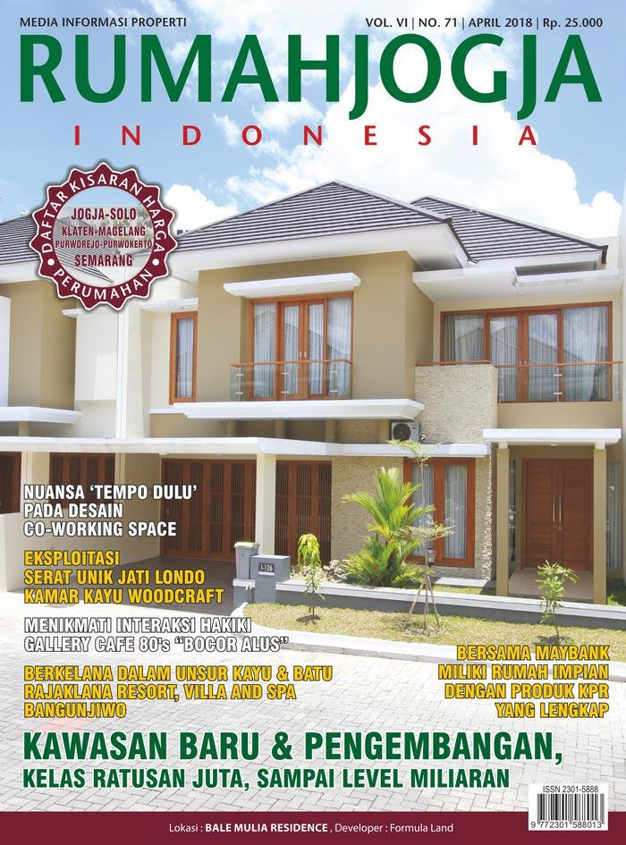 Majalah RUMAHJOGJA INDONESIA edisi 71
