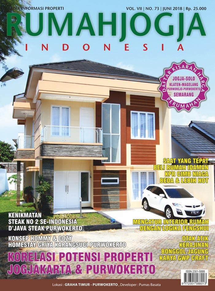 Majalah RUMAHJOGJA INDONESIA edisi 73