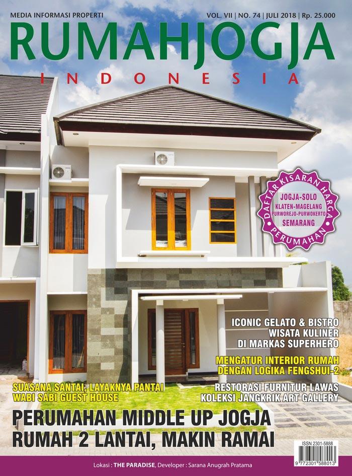 Majalah RUMAHJOGJA INDONESIA edisi 74