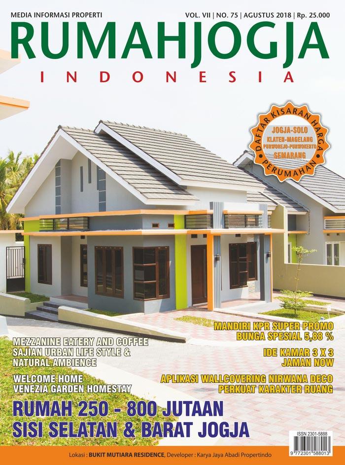 Majalah RUMAHJOGJA INDONESIA edisi 75
