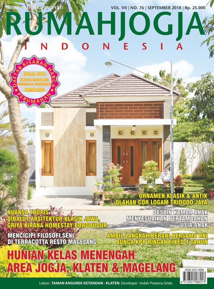 Majalah RUMAHJOGJA INDONESIA edisi 76