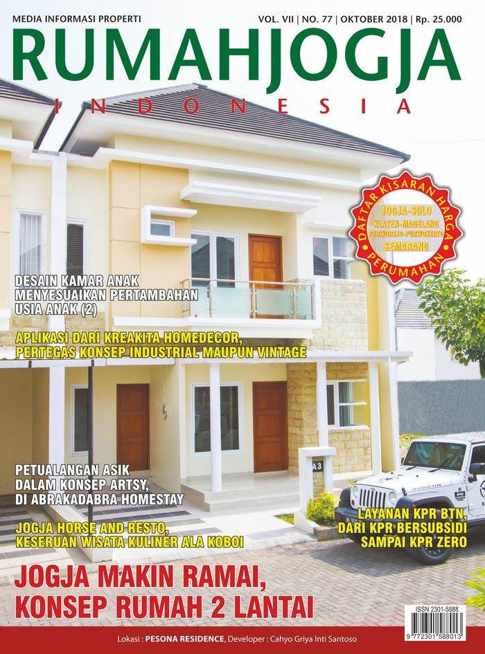 Majalah RUMAHJOGJA INDONESIA edisi 77