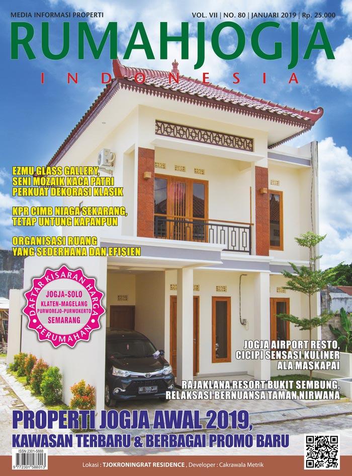 Majalah RUMAHJOGJA INDONESIA edisi 80