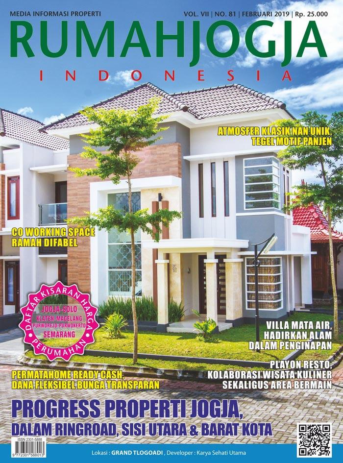 Majalah RUMAHJOGJA INDONESIA edisi 81