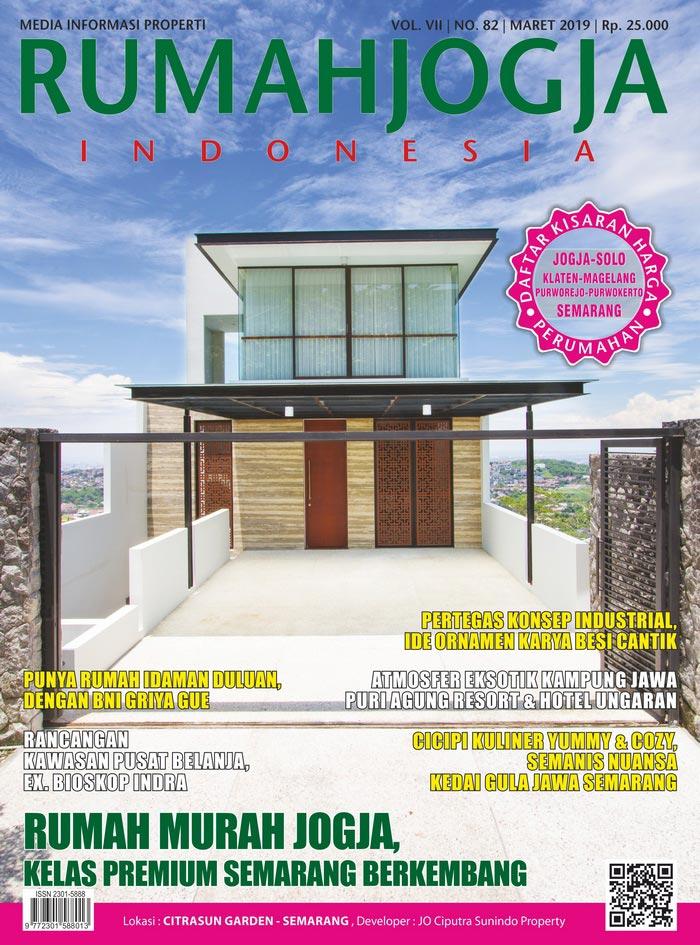 Majalah RUMAHJOGJA INDONESIA edisi 82