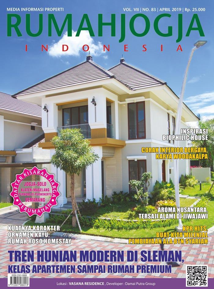 Majalah RUMAHJOGJA INDONESIA edisi 83
