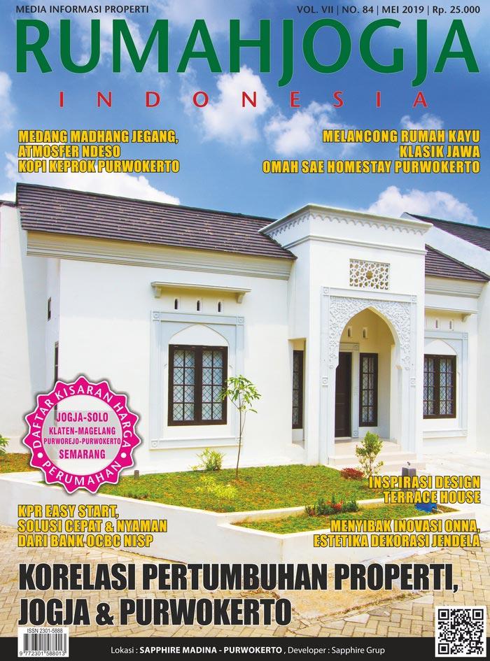 Majalah RUMAHJOGJA INDONESIA edisi 84