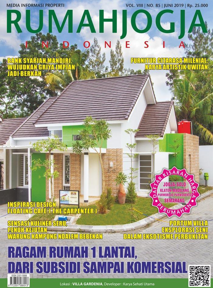 Majalah RUMAHJOGJA INDONESIA edisi 85