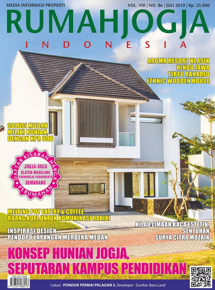 Majalah RUMAHJOGJA INDONESIA edisi 86
