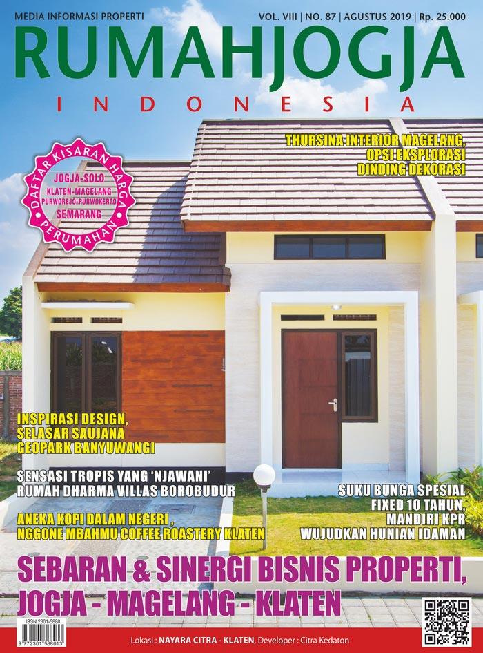 Majalah RUMAHJOGJA INDONESIA edisi 87