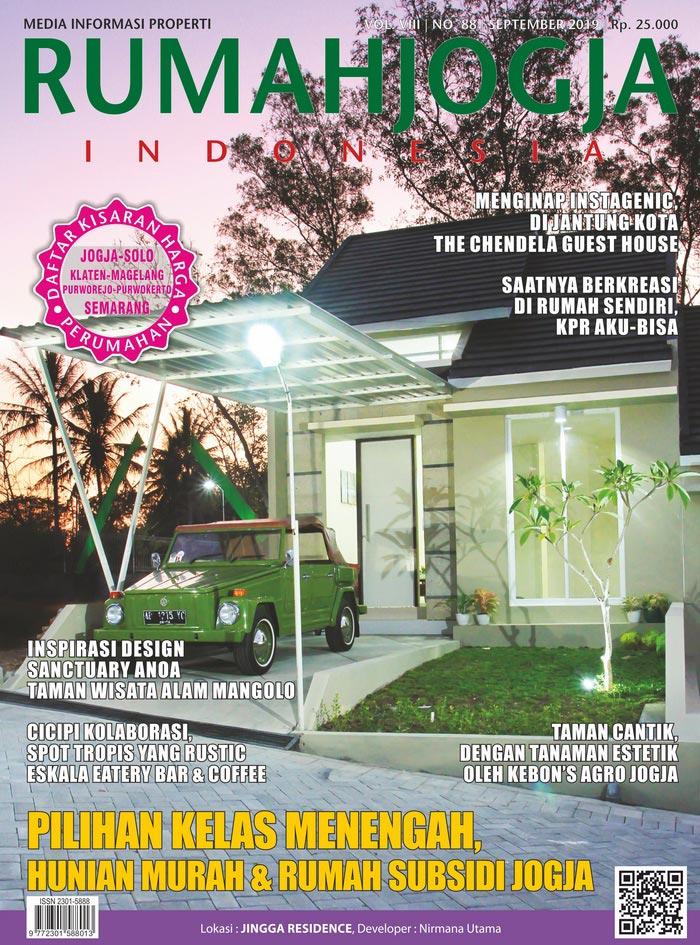 Majalah RUMAHJOGJA INDONESIA edisi 88