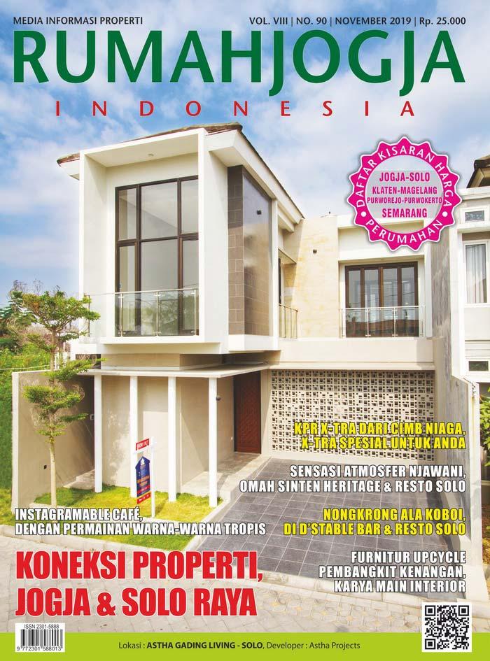 Majalah RUMAHJOGJA INDONESIA edisi 90