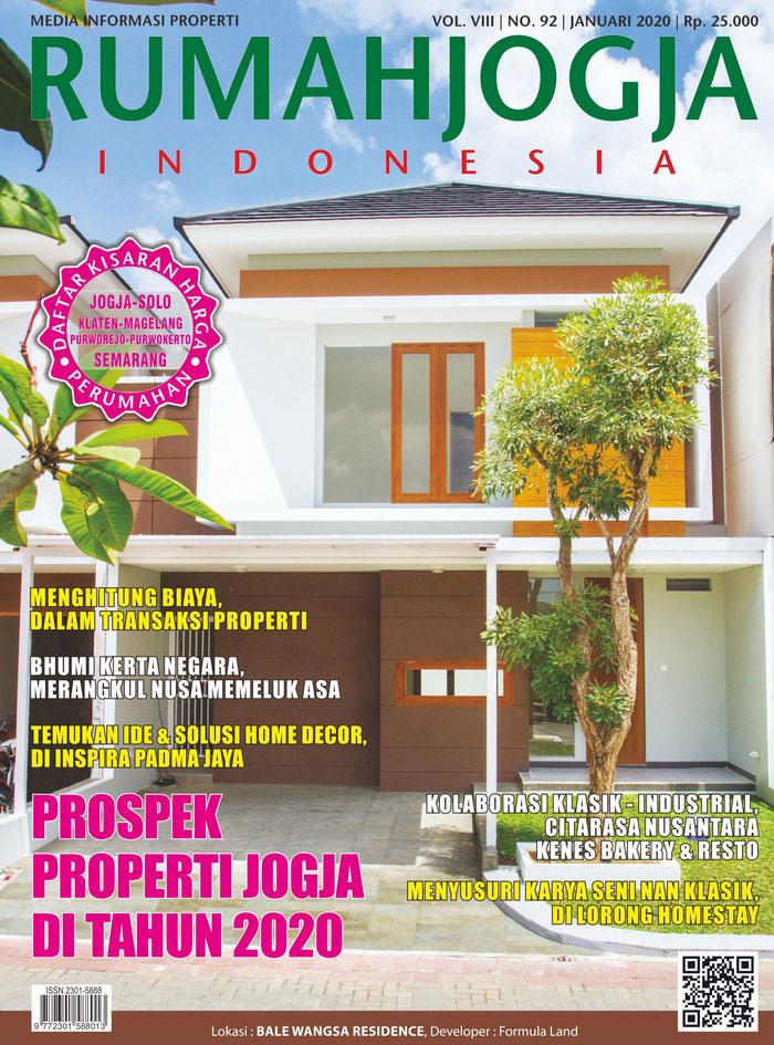 Majalah RUMAHJOGJA INDONESIA edisi 92