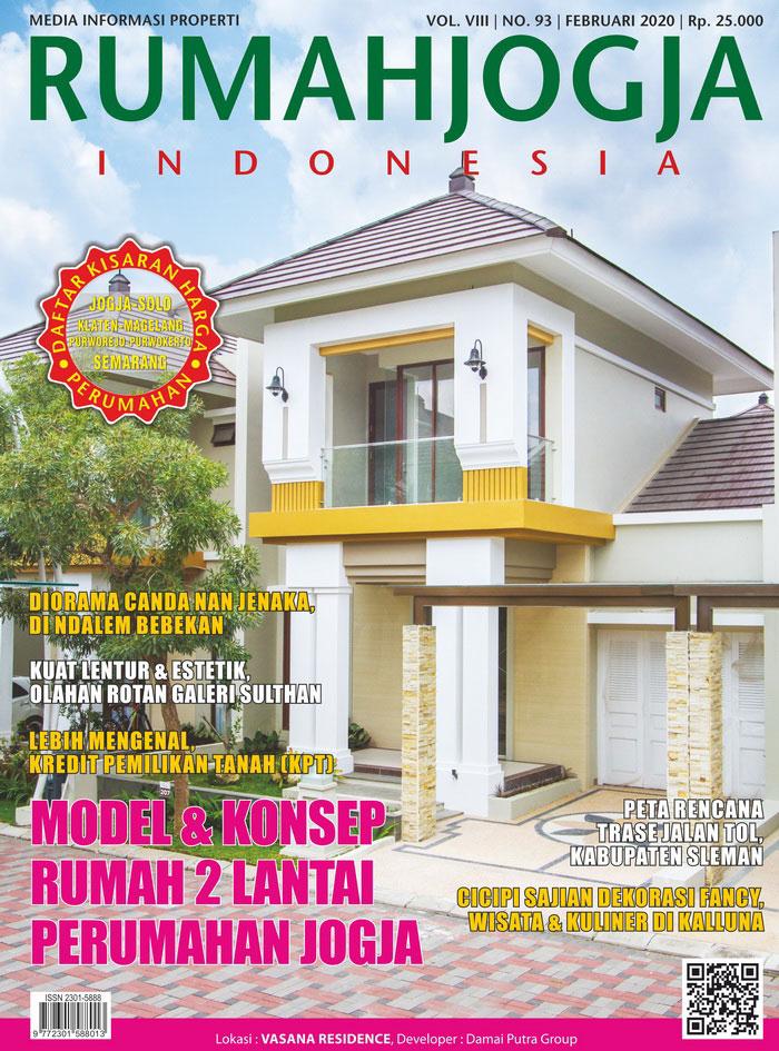Majalah RUMAHJOGJA INDONESIA edisi 93