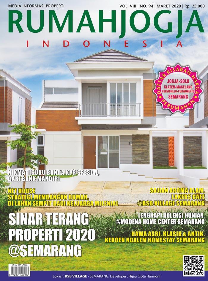 Majalah RUMAHJOGJA INDONESIA edisi 94
