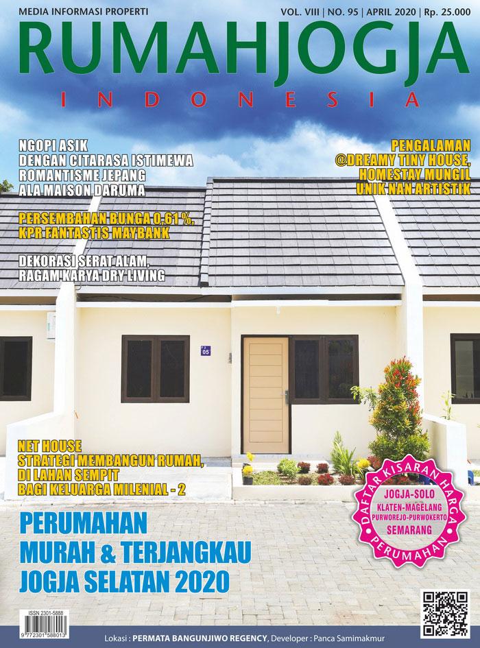 Majalah RUMAHJOGJA INDONESIA edisi 95