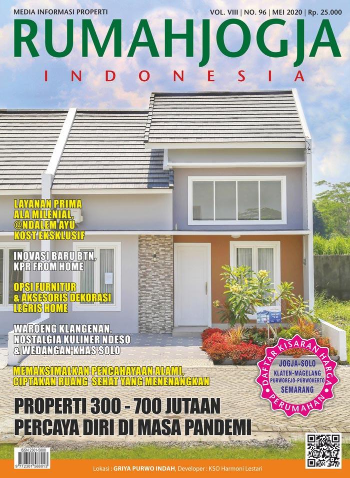 Majalah RUMAHJOGJA INDONESIA edisi 96