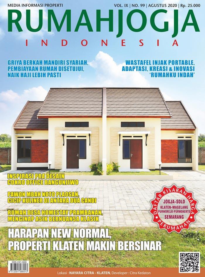 Majalah RUMAHJOGJA INDONESIA edisi 99