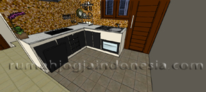 Desain Dapur Smart Minimalis
