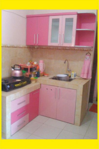 Foto Mebel Warna Kitchen Set