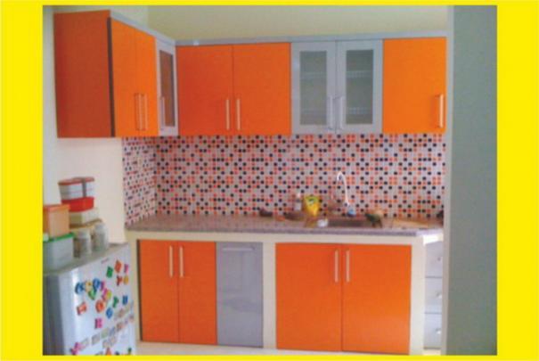 Foto Mebel Warna Kitchen Set
