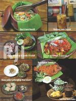 Aneka menu Kayu Apung Resto Solo