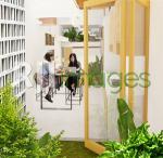 Area taman belakang yang berhubungan dengan view dari dapur dan ruang makan