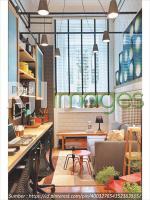 Contoh pemanfaatan ruang tamu rumah sebagai SOHO