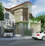 Desain Rumah Kantor 2 lantai