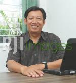 Hugi Kahyadi, wakil ketua bidang Diklat DPD REI DIY