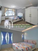 Kamar tidur utama & kamar tidur anak