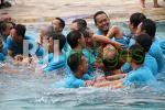 Keakraban di wahana Air Jogja Bay