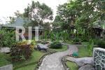 Landscape taman hijau dalam kawasan Graharu Boutique Hotel & Spa Borobudur