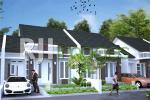Perspektif hunian tipe 54 Bukit Mutiara Residence