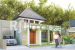 Perspektif rumah tipe 55 Amartani Palagan Residence