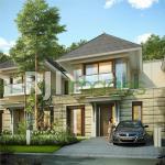 Perspektif rumah tipe Danette tipe 150 perumahan CitraGrand Mutiara Yogyakarta