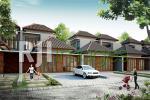 Perspektif rumah tipe Prabu 2, Permata Village