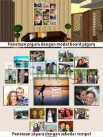 Pigura dengan model Board Pigura dan sekedar ditempel