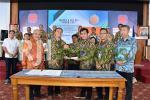 Serah terima jabatan Ketua DPD REI DIY dari Nur Andi W. ke Rama Adyaksa P
