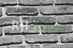 Wallpaper motif batu bata ekspos