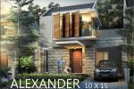 3 Dimensi Tipe Alexander 10x15 Citragrand Mutiara