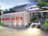 3d images aruna citra townhouse maingate