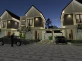 3d images aruna citra townhouse