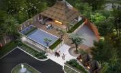 pondok permai giwangan residence kolam renang