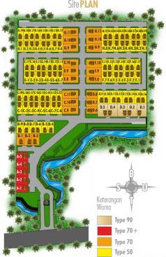 Site Plan New TirtaSani Residence