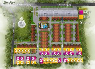 siteplan Grand Tlogoadi