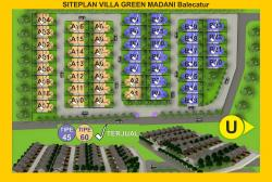 siteplan Villa Green Madani Balecatur